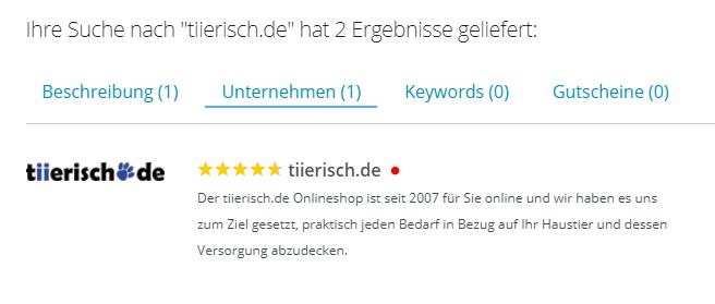 Suchergebnis Domain